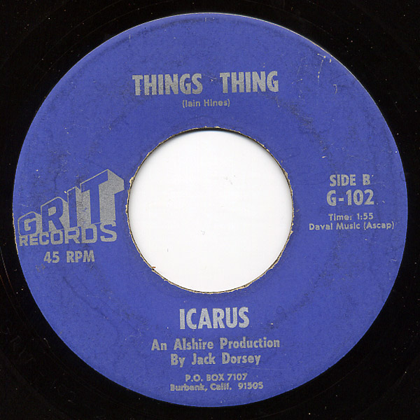 Icarus love is a thing / things thing