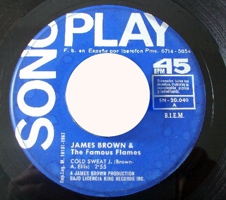 James Brown & Famous Flames cold sweat / let yourself go
