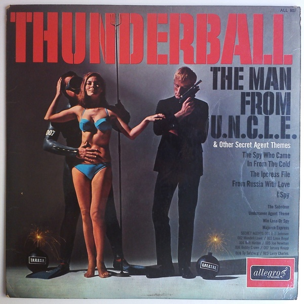 Jazz All stars Thunderball & other secret agent themes