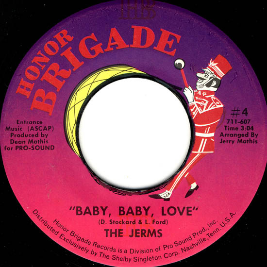 Jerms, the baby baby love / nobody