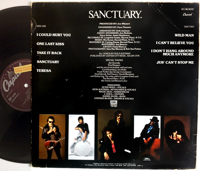 J Geils Band Sanctuary