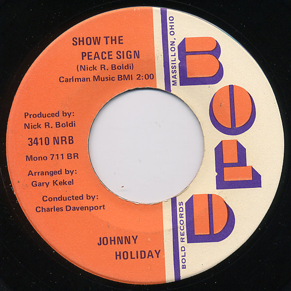 Johnny Holiday magic of the mind / show the peace sign
