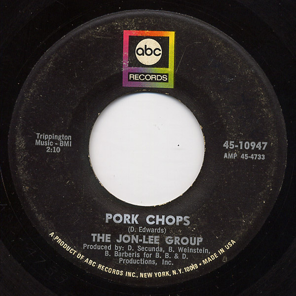 Jon-Lee Group, the pork chops / bring it down front