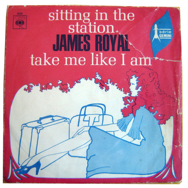 James Royal sitting in the station / take me like i am