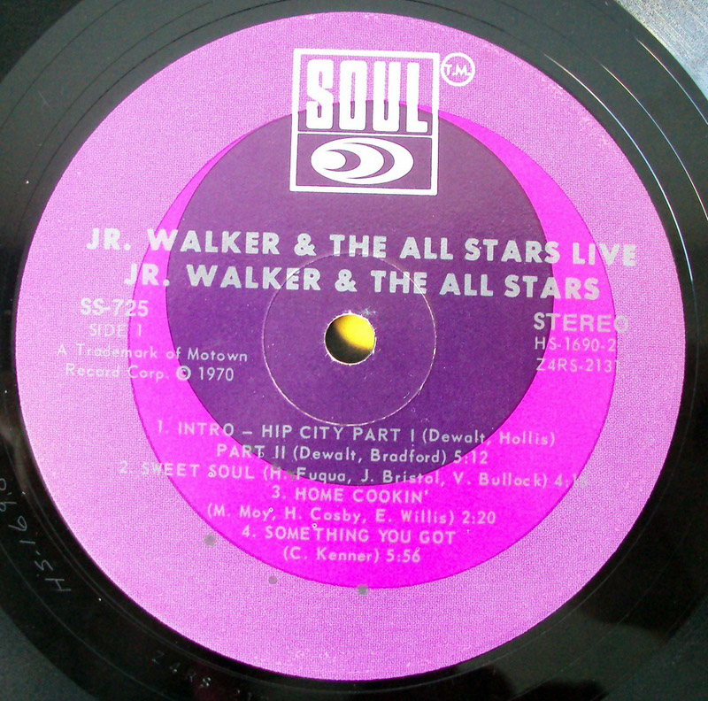 Jr Walker & the All-Stars live