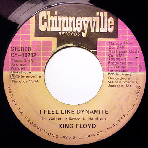 King Floyd I feel like dynamite / handle with care