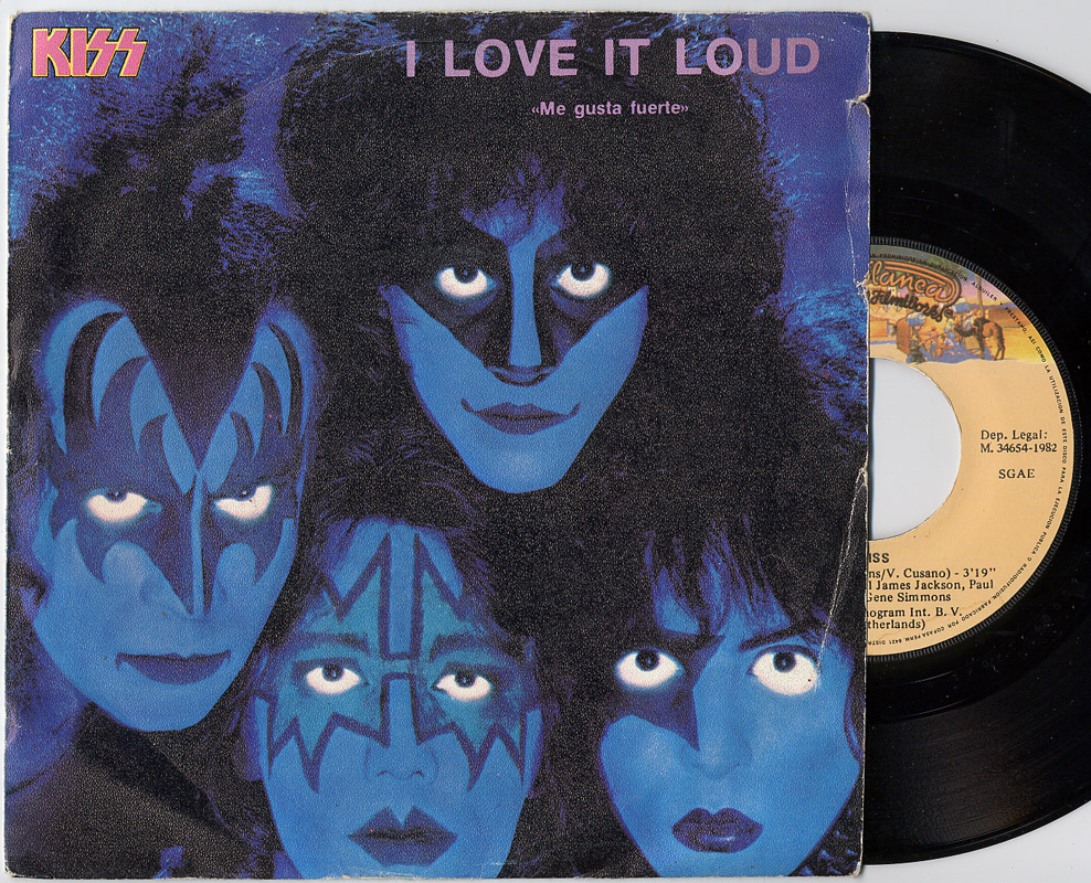 Kiss i love it loud / killer