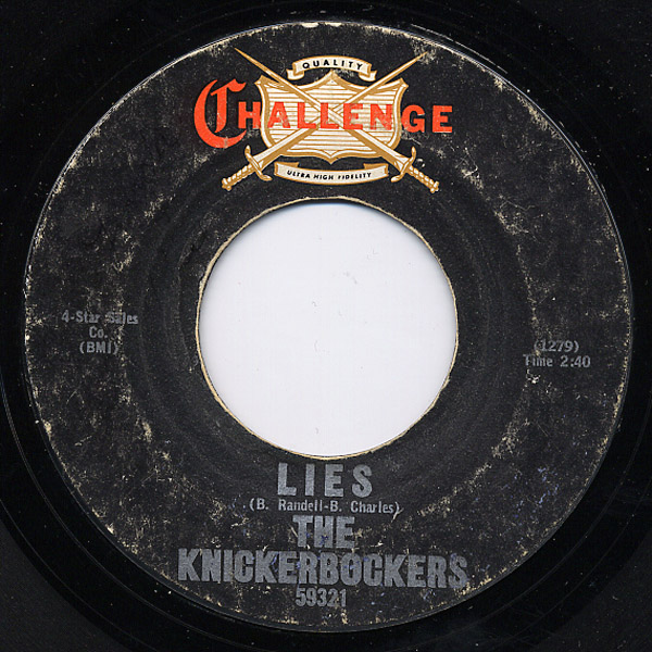 Knickerbockers, the lies / the coming generation