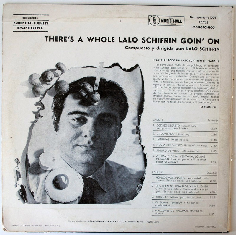 Lalo Schifrin there's a whole goin' on