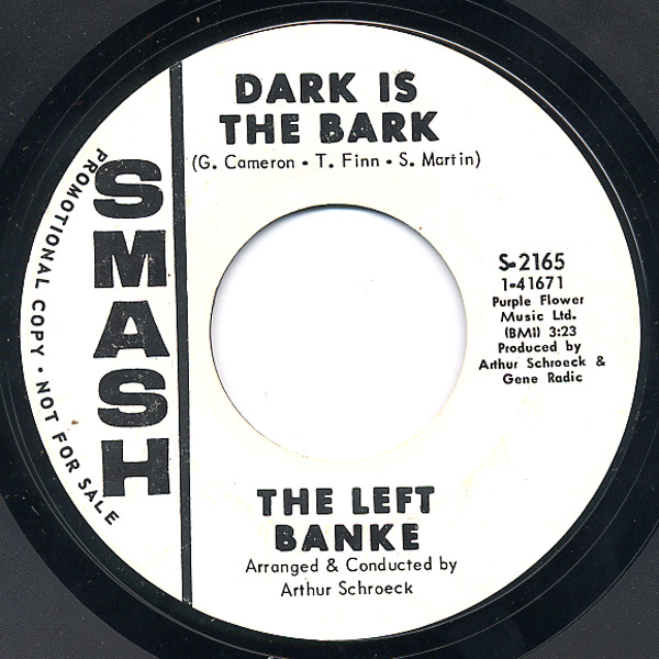 Left Banke, the dark is the bark / dark is the bark