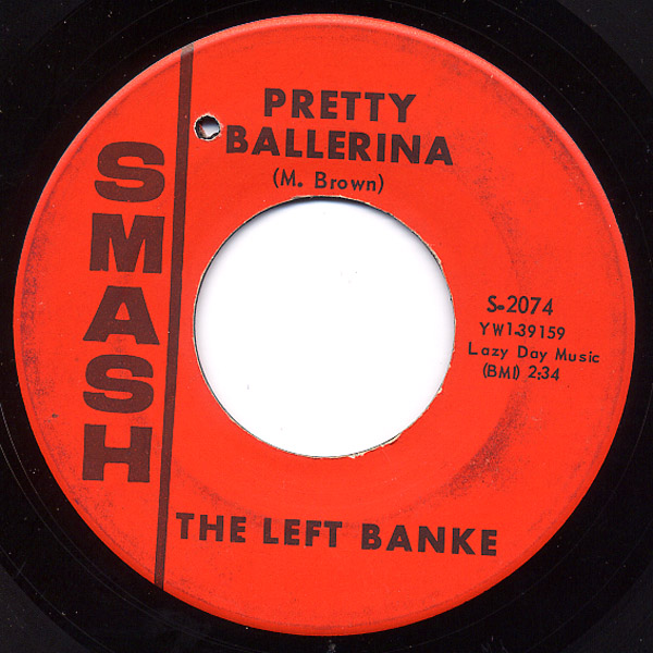 Left Banke, the lazy day / pretty ballerina
