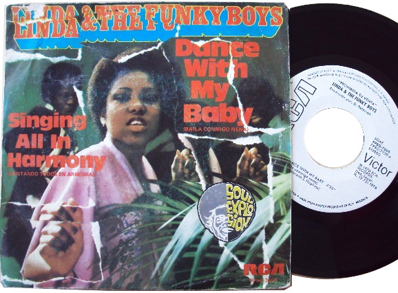 Linda & the Funky Boys dance with my baby / singing all in harmony