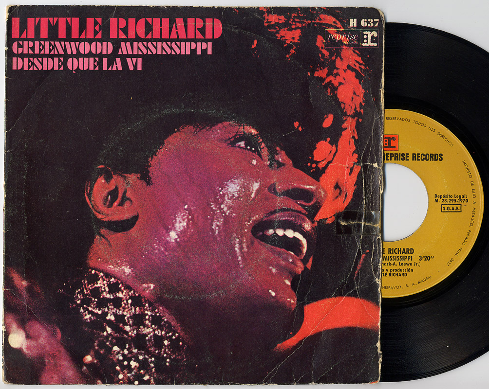 Little Richard greenwood mississippi / i saw her standing there (desde que la vi)