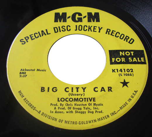 Locomotive big city car / roberta