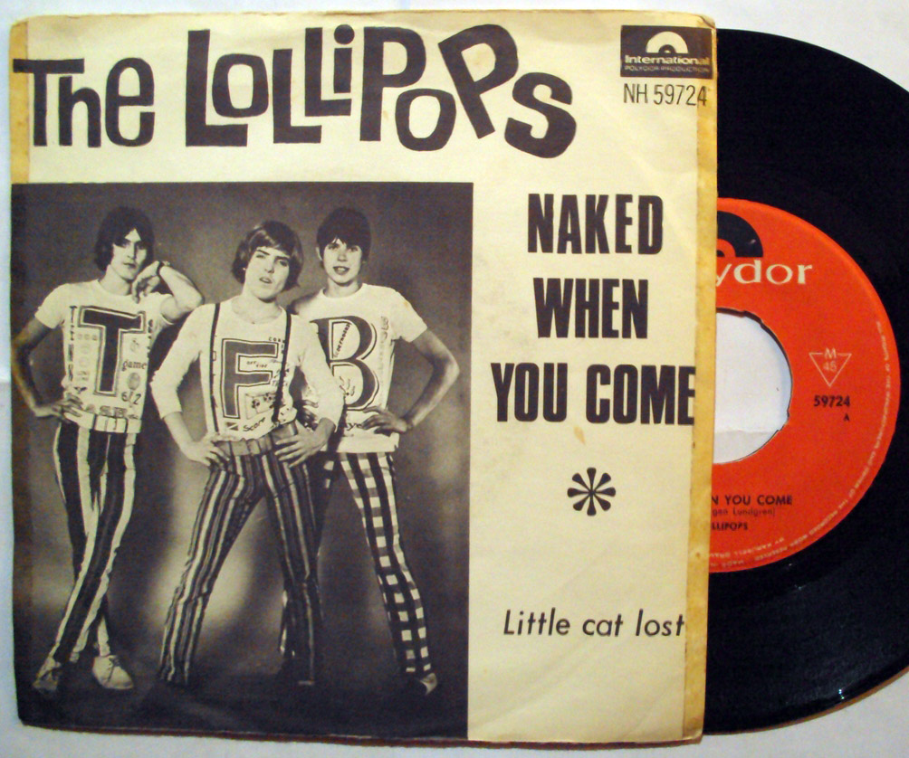 Lollipops, the naked when you come / little cat lost
