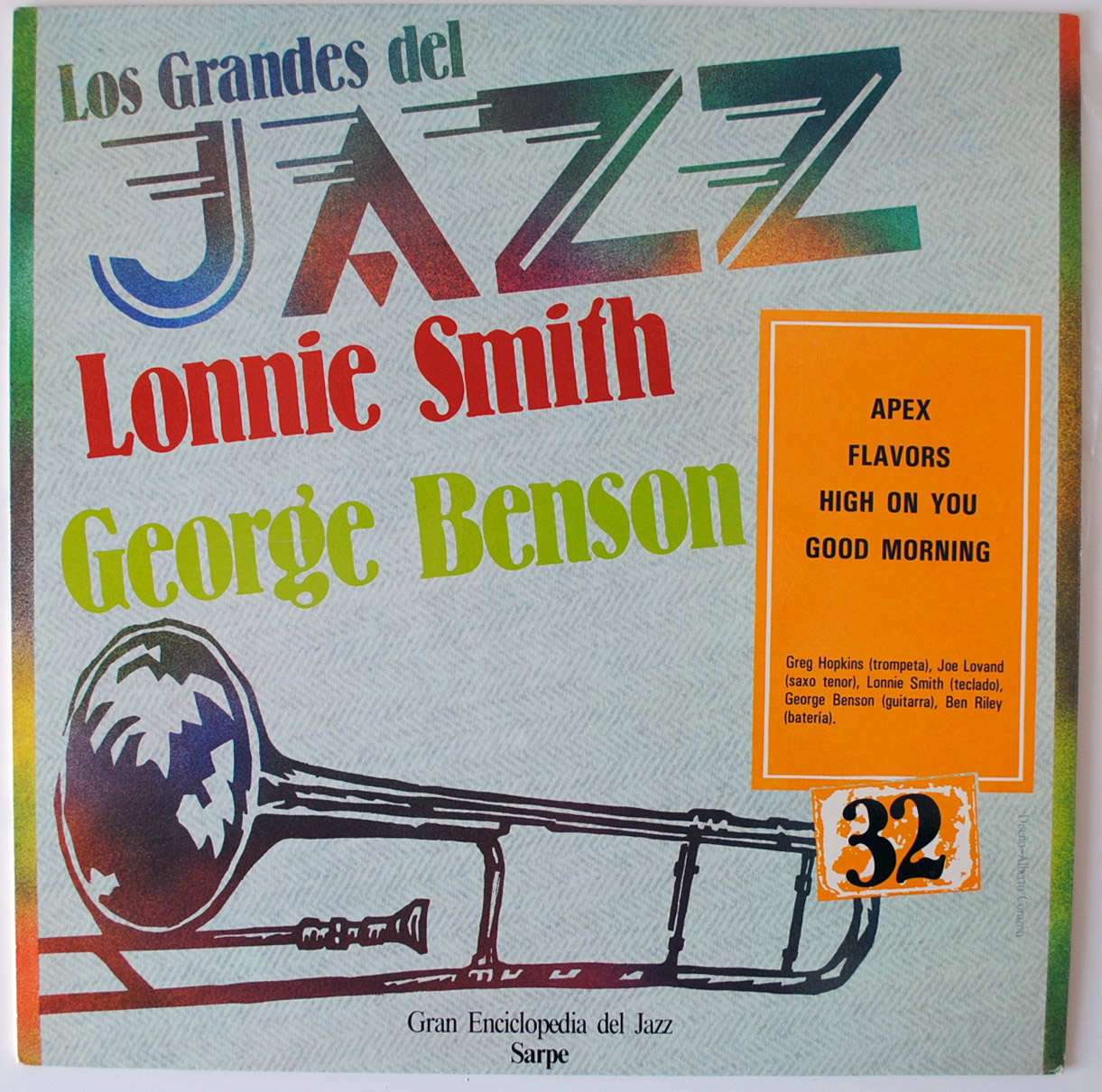 Lonnie Smith afro-desia (grandes del jazz #32)