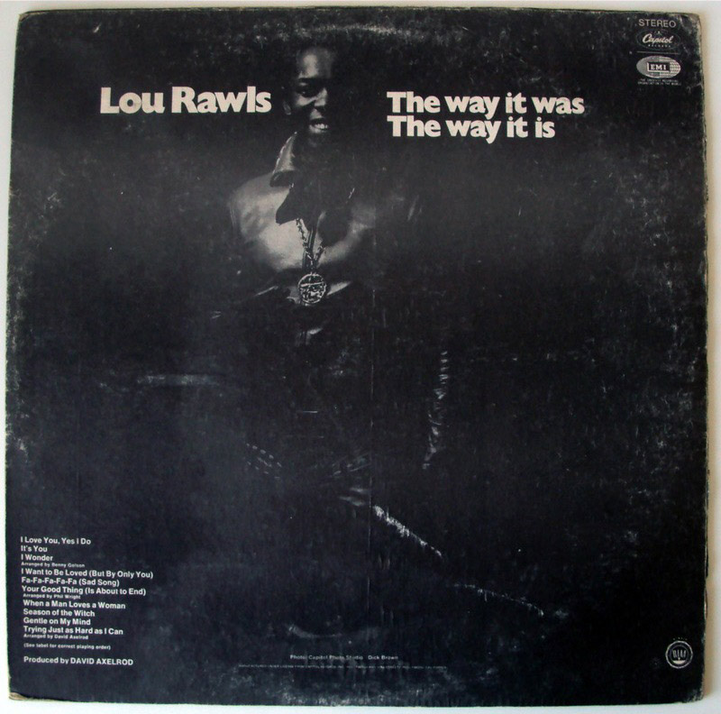 Lou Rawls the way it was, the way it is