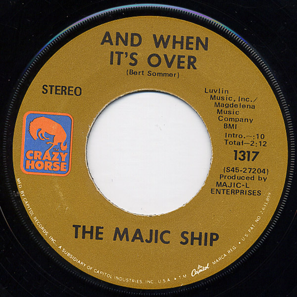Majic Ship, the and when it's over / on the edge