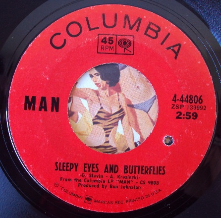 Man sleepy eyes and butterflies / sister salvation