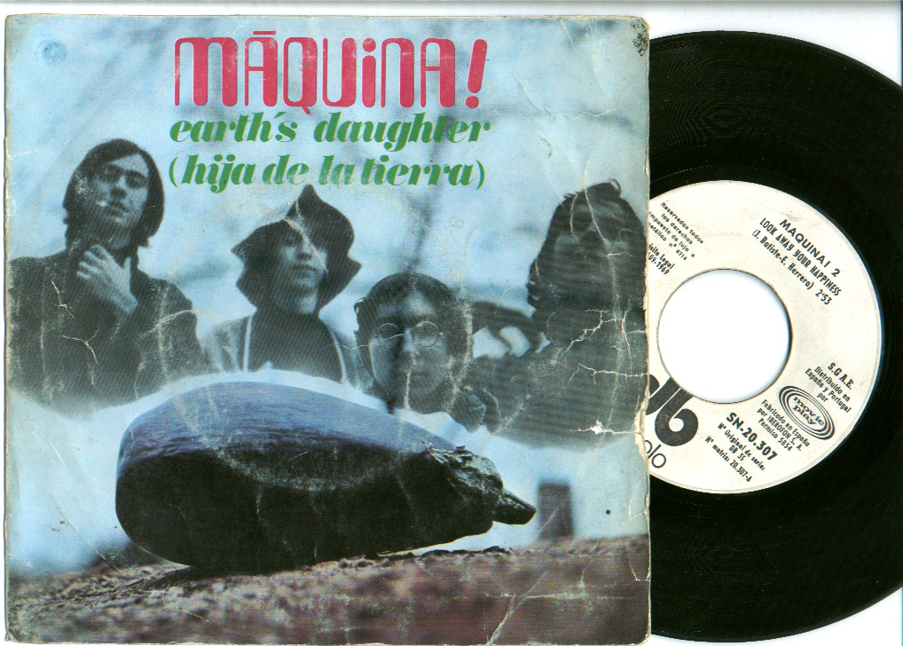Maquina look away your happiness (japineses) / earth's daughter