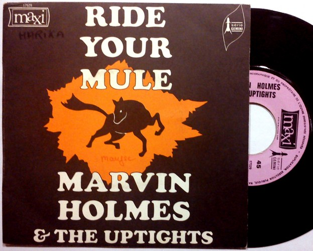 Marvin Holmes & the Uptights ride your mule pt i & ii