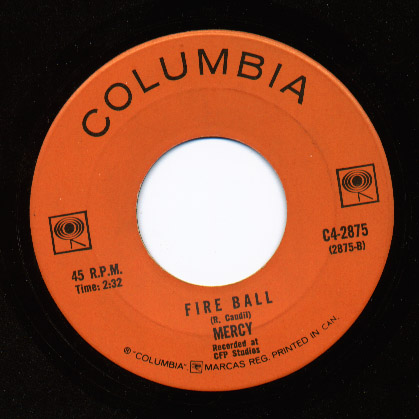 Mercy love (can make you happy) / fire ball