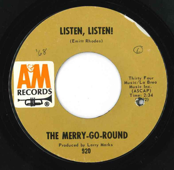 Merry-Go-Round, the listen, listen / missing you