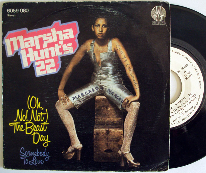 Marsha Hunt somebody to love / the beast day