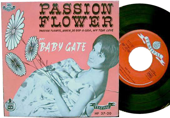 Mina (Baby Gate) passion flower / when / be-bop-a-lula / my true love