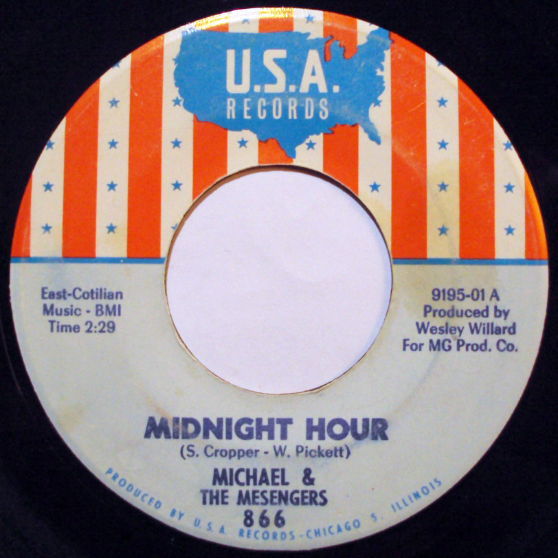 Michael & the Messengers (Mesengers) midnight hour / up til news
