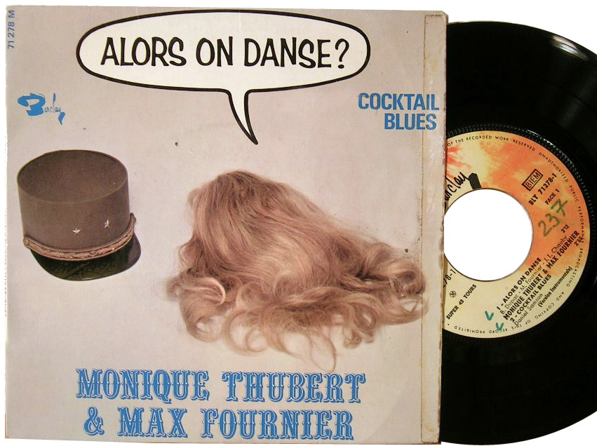 Monique Thubert & Max Fournier alors on danse / cocktail blues (instrumental) / cocktail blues / alors or danse (instrumental)