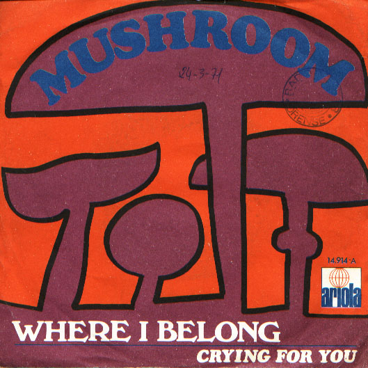Mushroom where i belong / crying for you