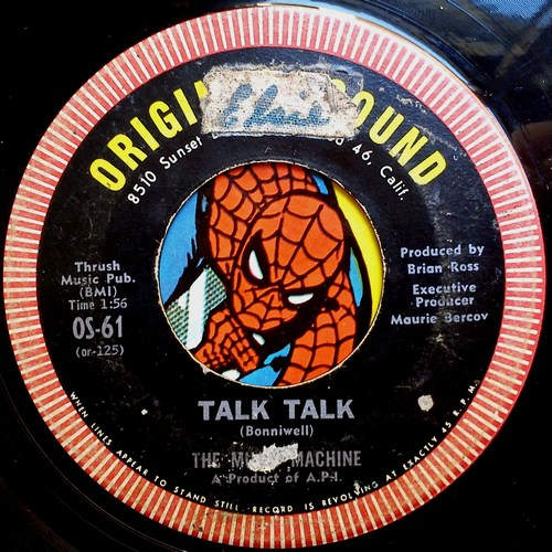 Music Machine talk talk / come on in