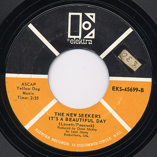 New Seekers, the look what they've done to my song ma / it's a beautiful day