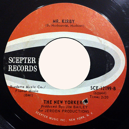 New Yorkers, the mr kirby / seeds of spring