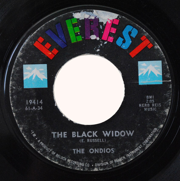 Ondios, the the black widow / the old spinning wheel