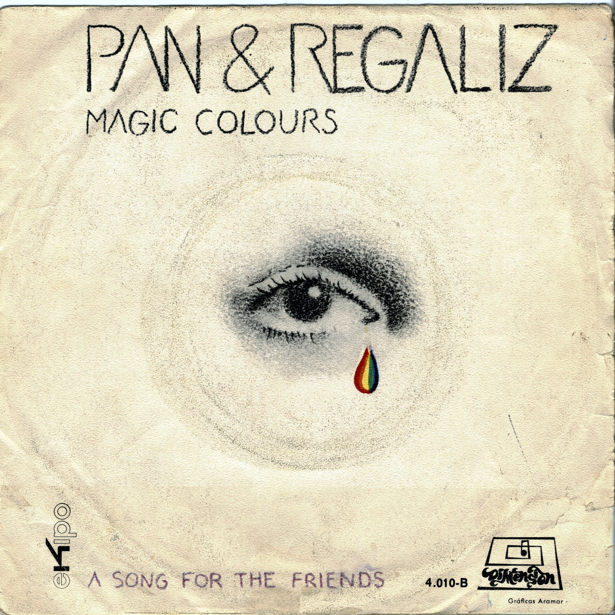 Pan y Regaliz magic colors / a song for the friends