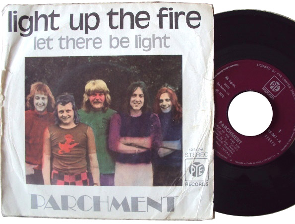 Parchment light up the fire / let there be light