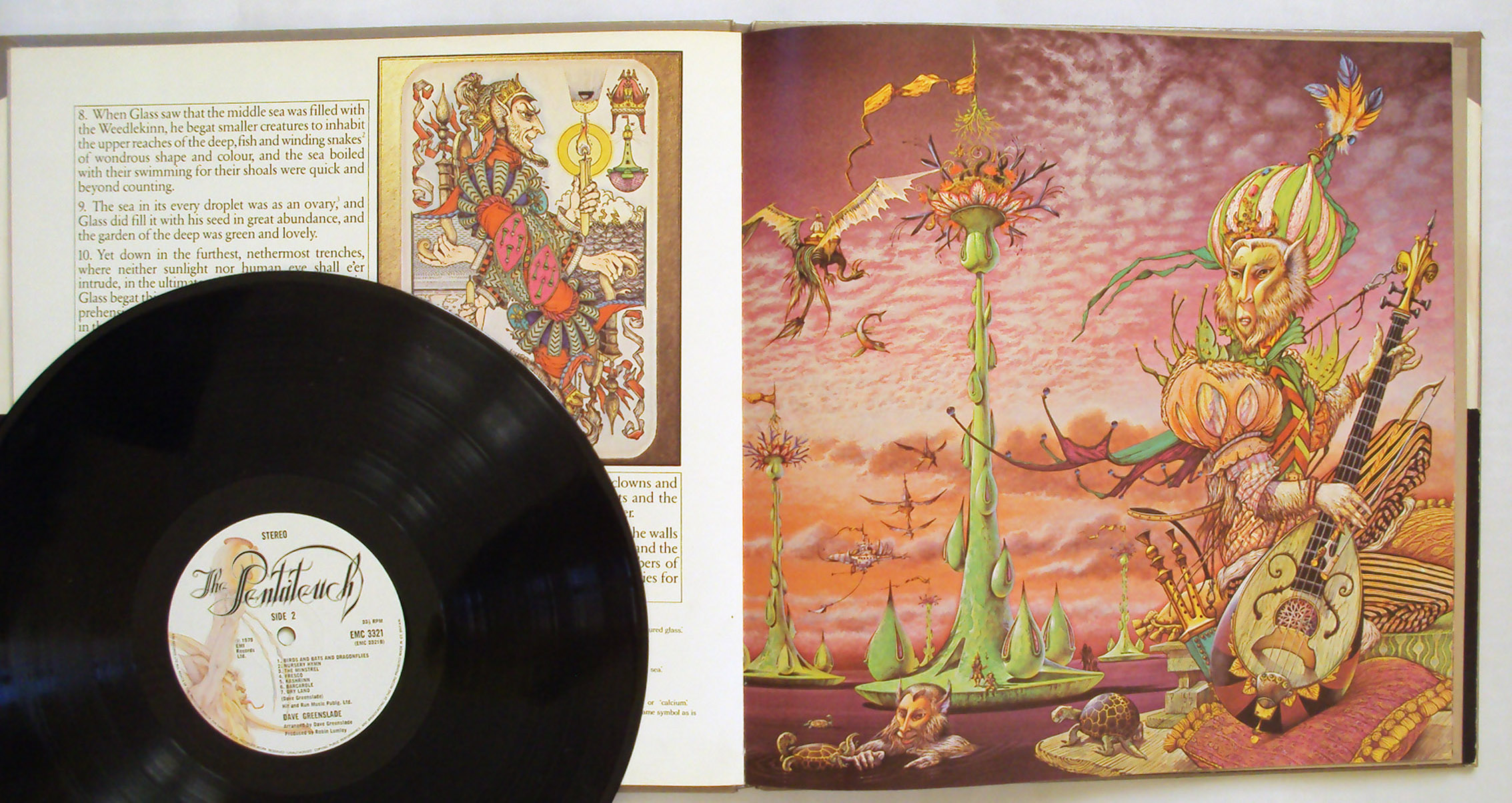 Patrick Woodroffe & Dave Greenslade the pentateuch of the cosmogony
