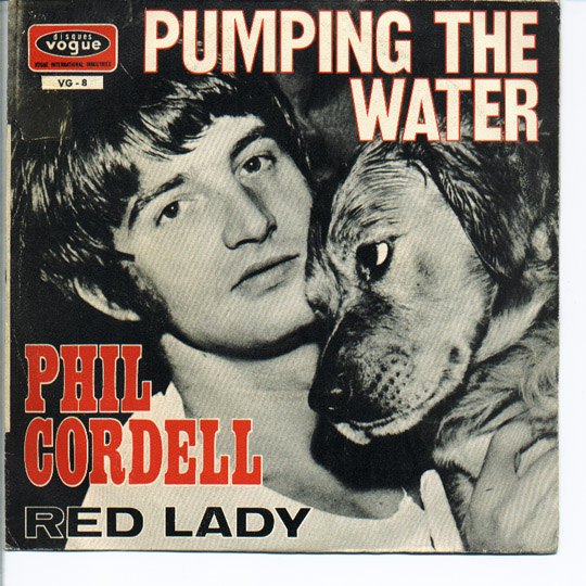 Phil Cordell red lady / pumping in the water