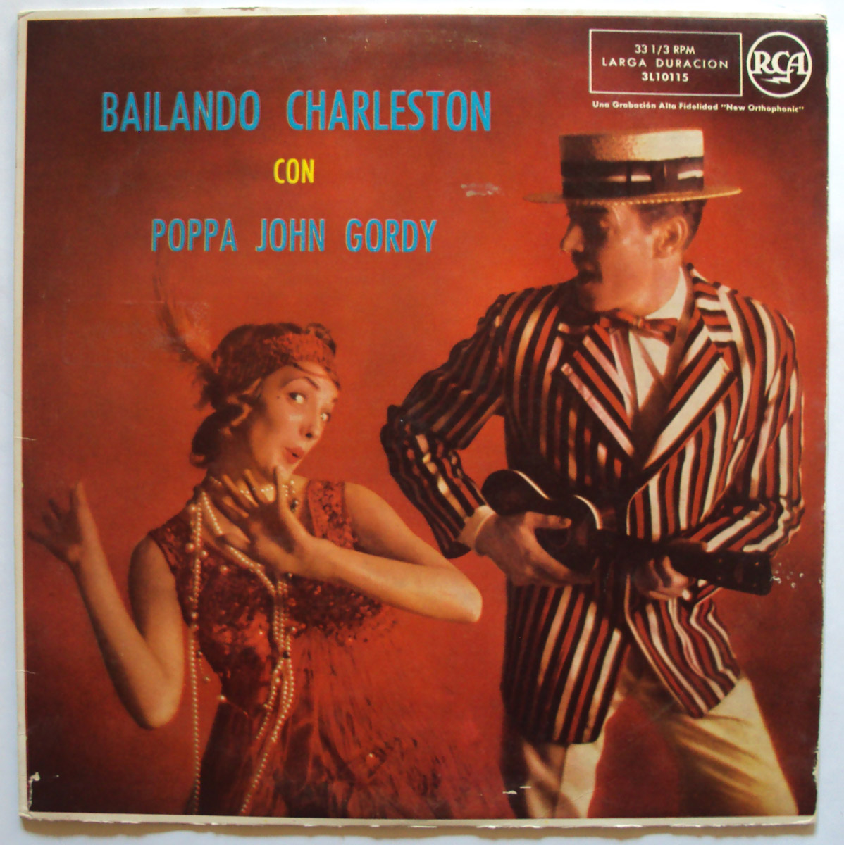 Poppa John Gordy bailando charleston con (a night at poppa john's)