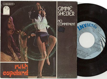 Ruth Copeland gimme shelter / no comment