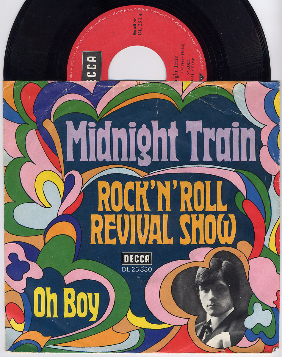 Rock'n'Roll Revival Show (Tommy Bishop) midnight train / oh boy