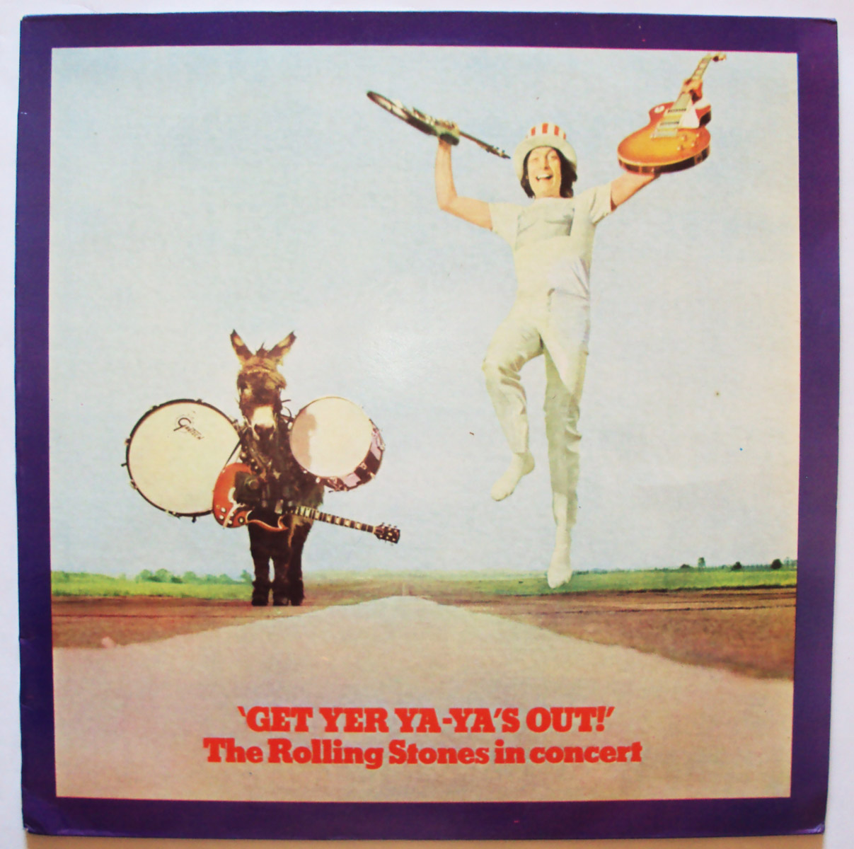 Rolling Stones, the get yer ya-ya's out