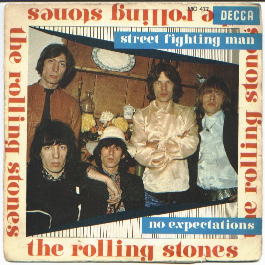 Rolling Stones, the street fighting man / no expectations