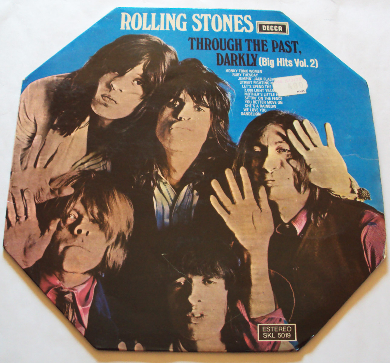 Rolling Stones, the through the past, darkly