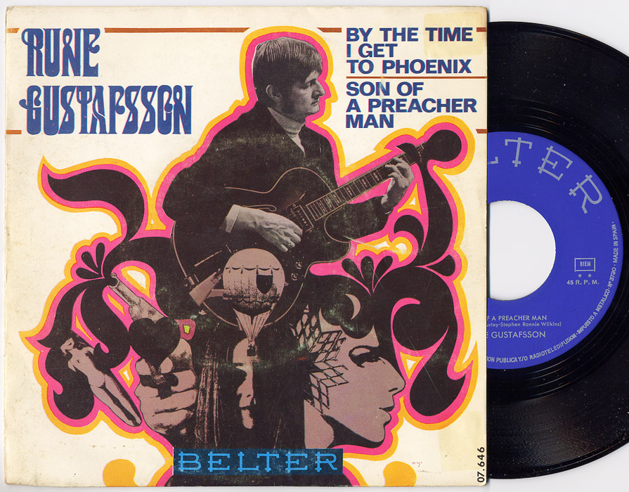 Rune Gustafsson son of a preacher man / by the time i get to phoenix
