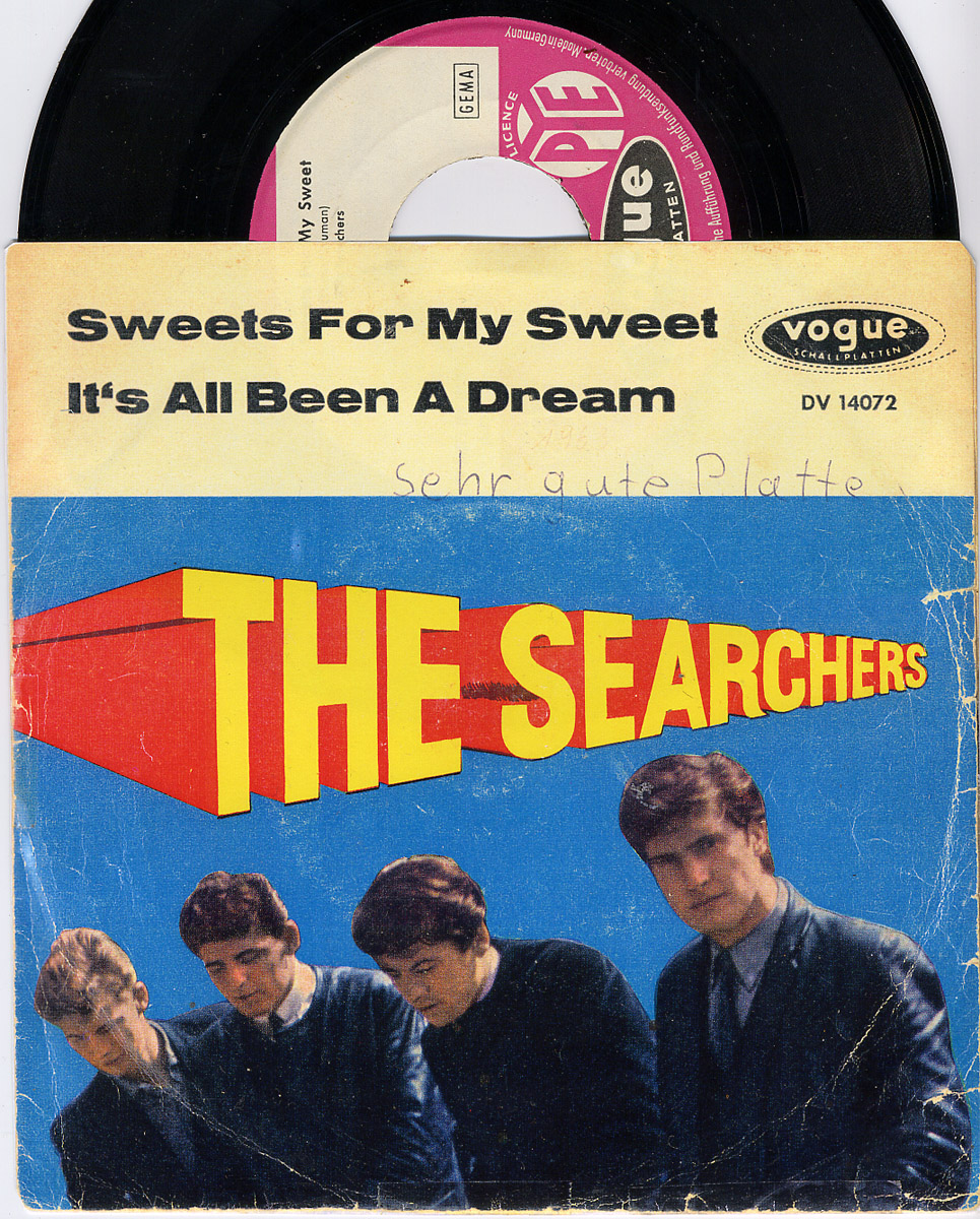 Searchers, the sweets for my sweet / it's all been a dream