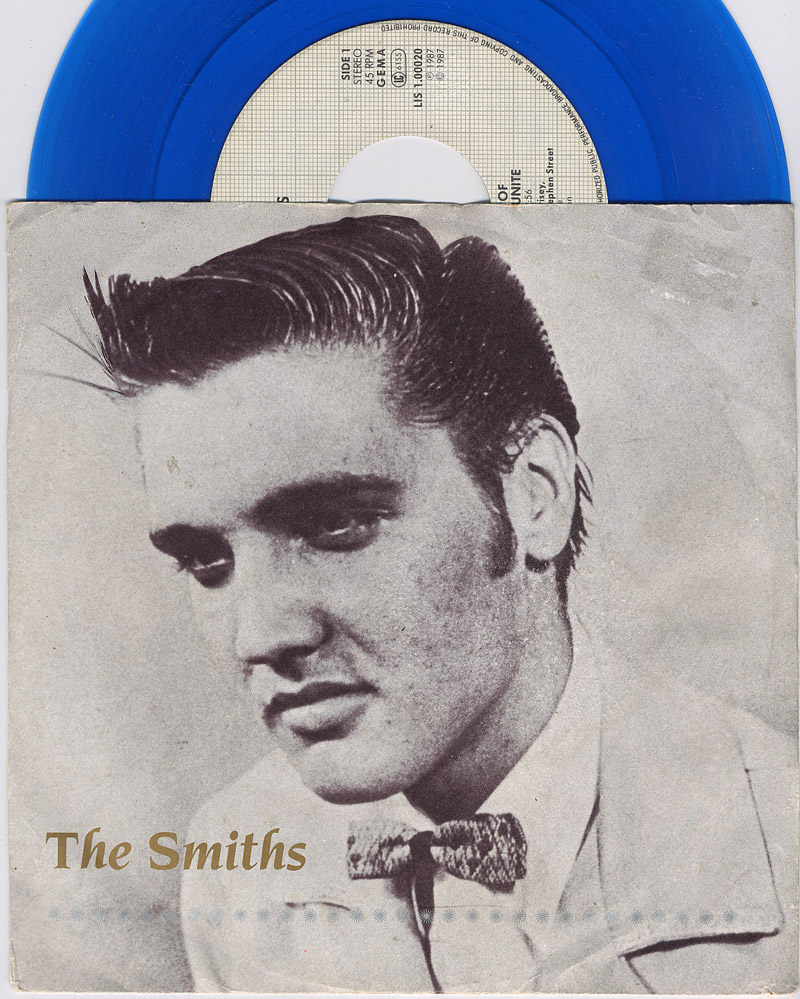 Smiths, the shoplifters of the world unite / half a person