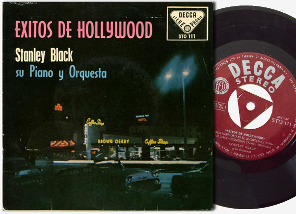 Stanley Black & Orchestra exitos de hollywood (hollywood love themes)
